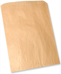 Natural Brown Kraft Merchandise Bag