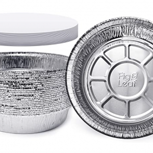 aluminum pan with lid