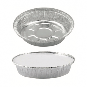 """7"""" aluminum pan with lid"""